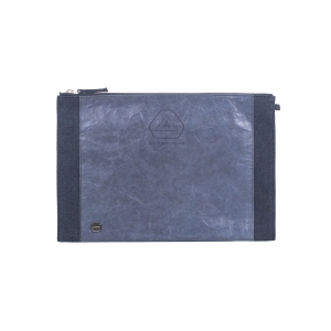 A :bag the basic_clutch_s(navy)